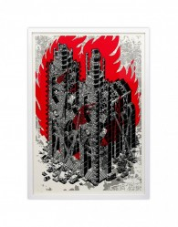 Untitled (Church on fire)